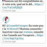 Derniers Tweets - Web Mairie